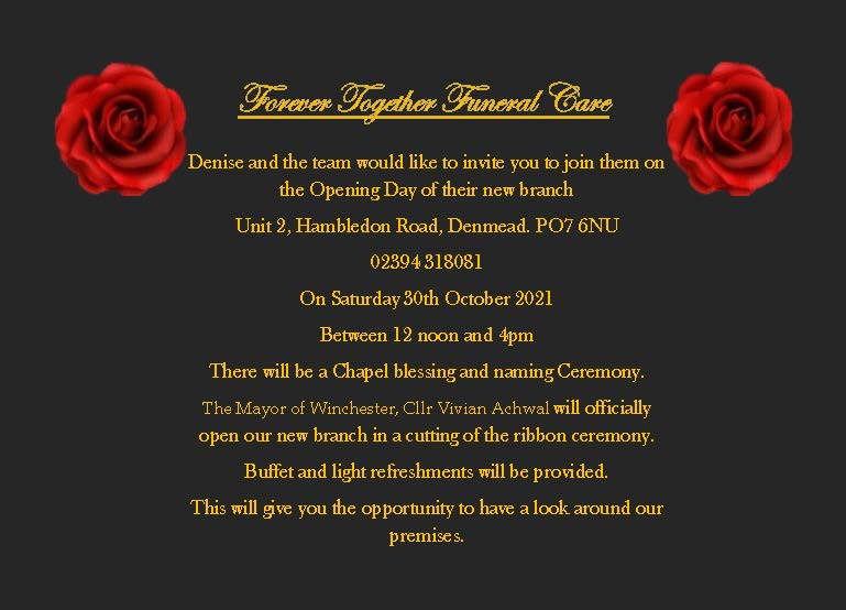 Denmead Opening Day Leaflets